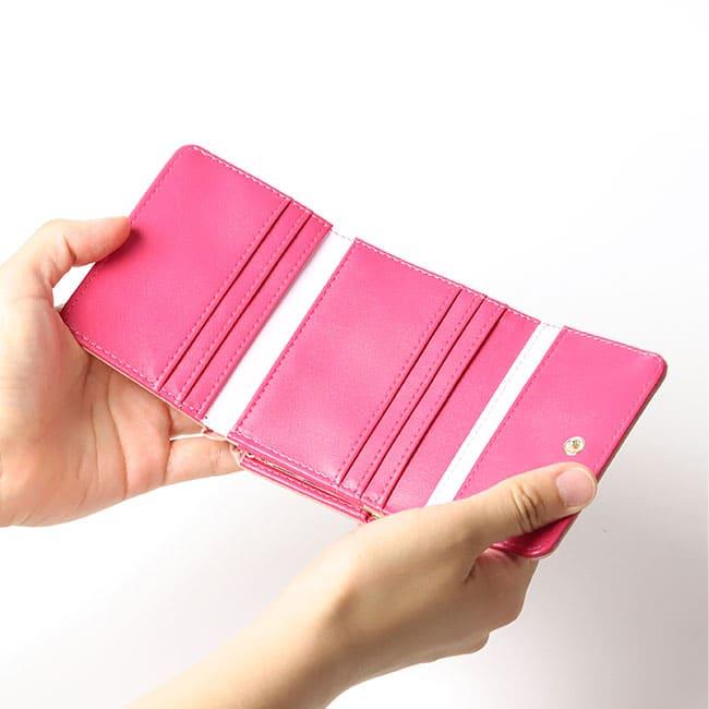 禰津子ミニ財布カードポケット