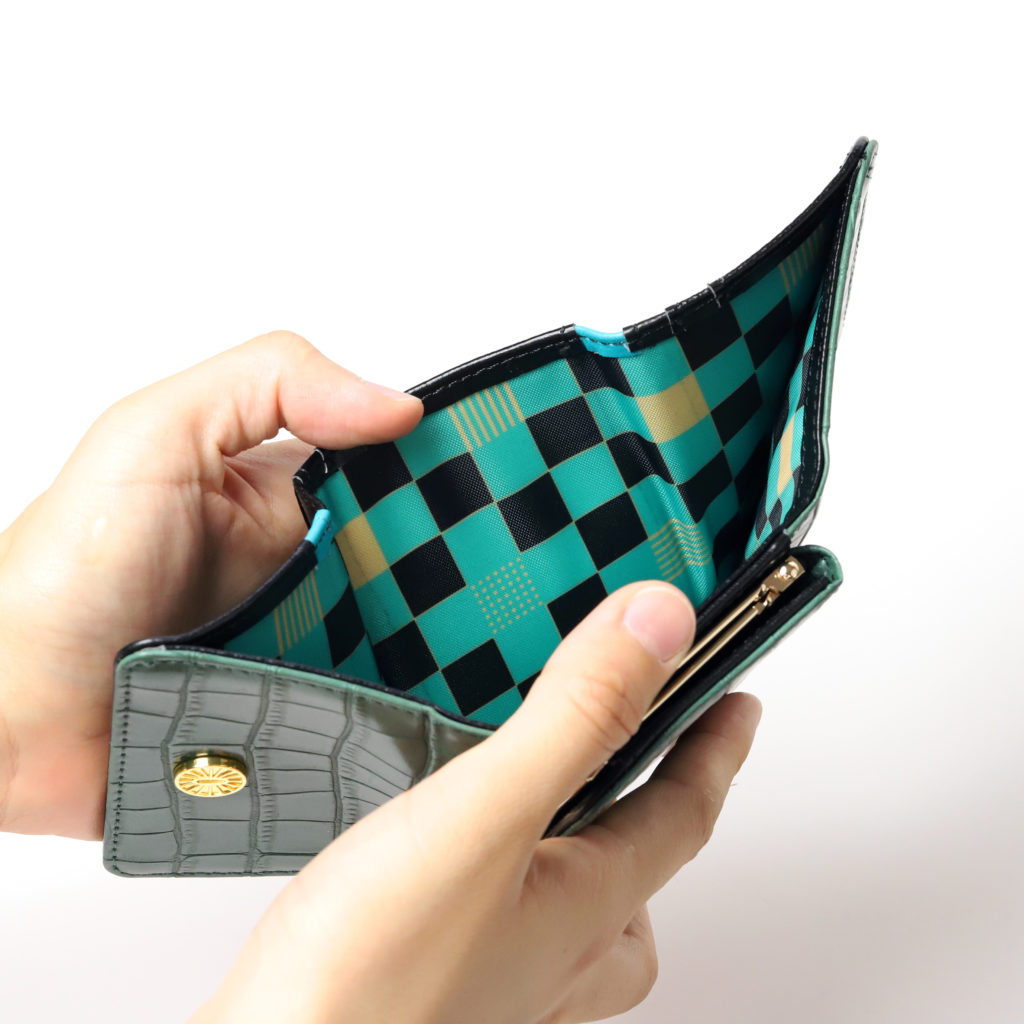 丹次郎ミニ財布内側
