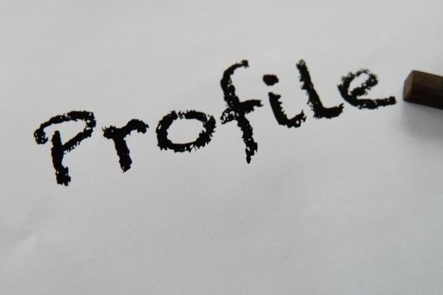 profileの文字.