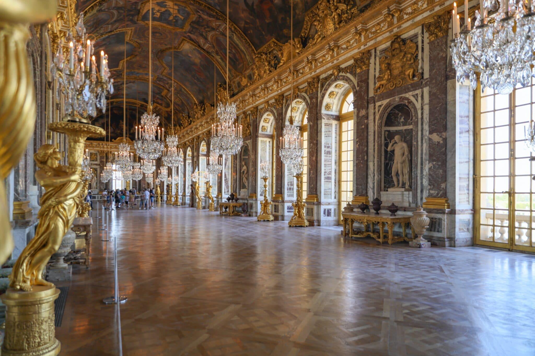 ヴァニラの出身はベルサイユ宮殿